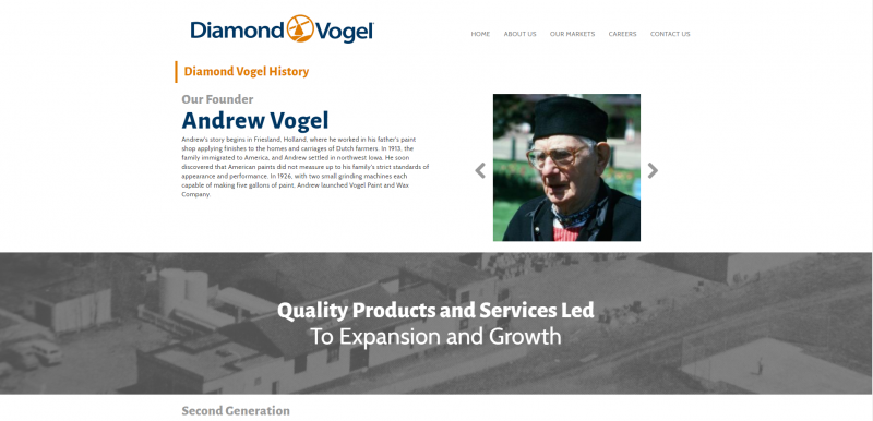 Diamond Vogel About us